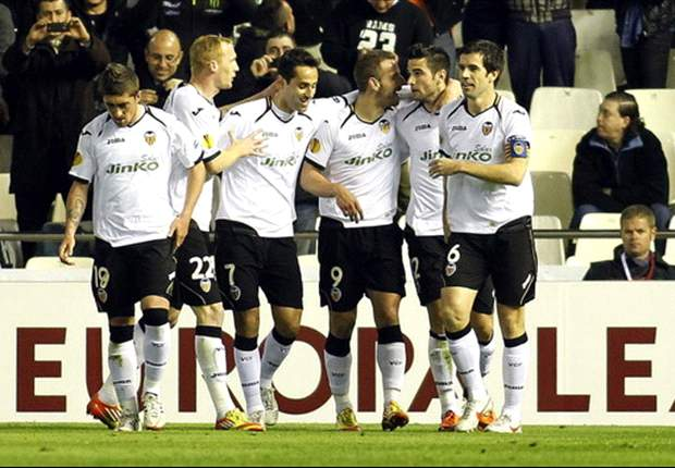 Valencia 4-2 PSV: Soldado, Ruiz and Piatti help Unai Emery's side record important win