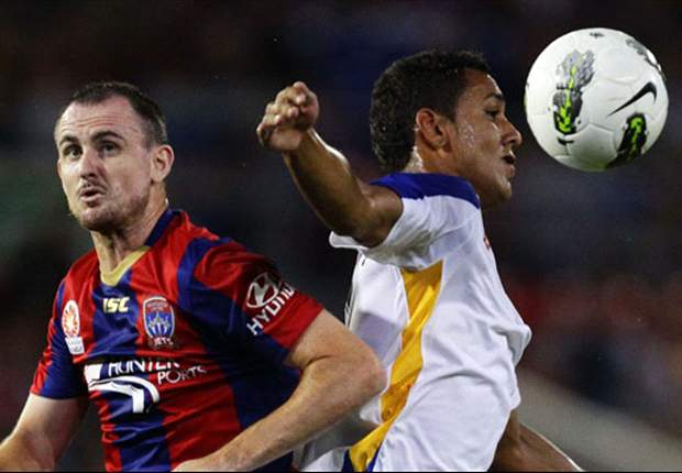 Newcastle Jets 1-1 GCU: Late drama in Newcastle