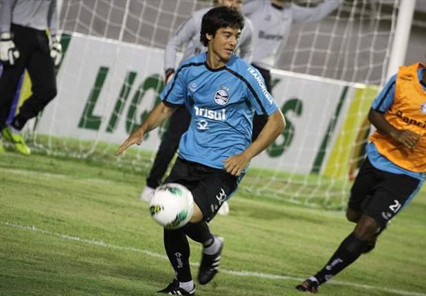 Grêmio:Bertoglio deve ficar à disposição contra Lusa