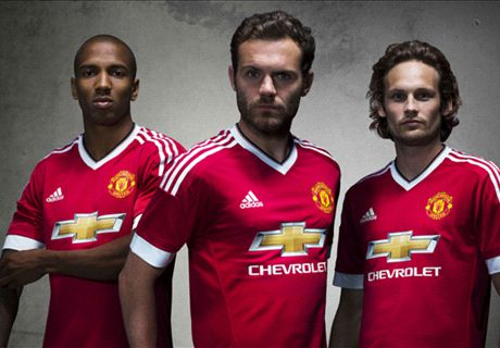 REVEALED: Man Utd's new home kit