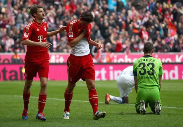 Münchener Frustabbau: Hoffenheim gerät gegen die Bayern unter die Räder