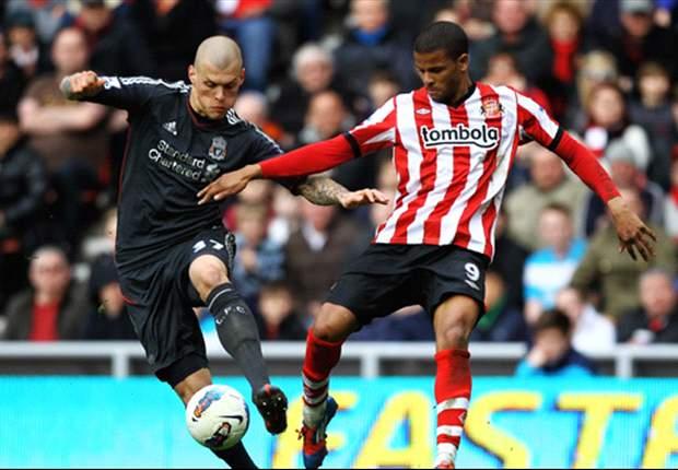 Sunderland 1-0 Liverpool: Second-half Bendtner strike consigns Dalglish's men to third straight league defeat