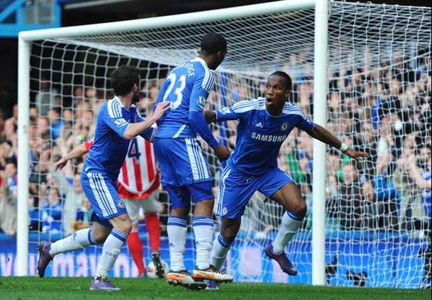 Chelsea vence Stoke com Ramires e David Luiz