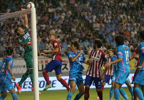 Atletico denied in Japan