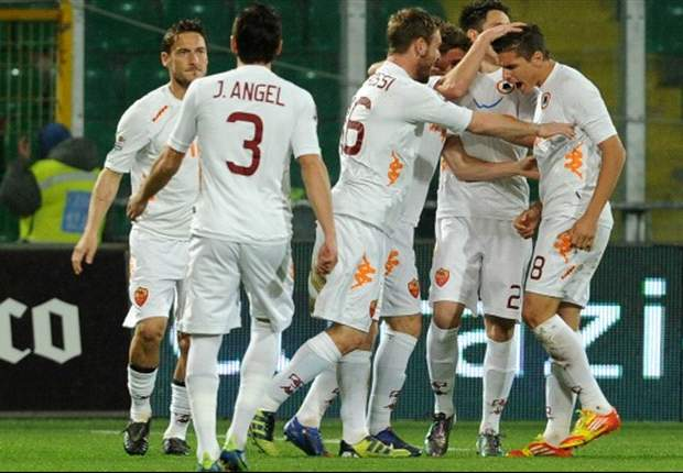 Roma will try to win as many games as possible, vows De Rossi after victory over Palermo