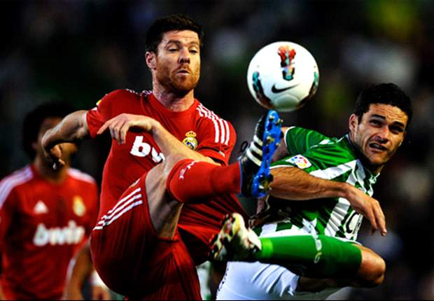 Real Madrid's Xabi Alonso: The ball did hit my hand but the referee deemed otherwise