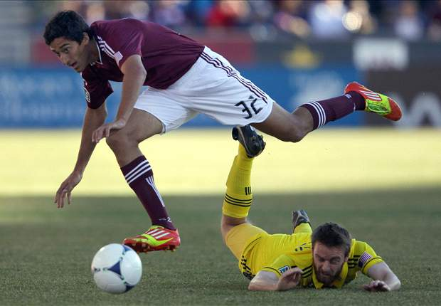 Colorado Rapids 2-0 Columbus Crew: Drew Moor heads home winner