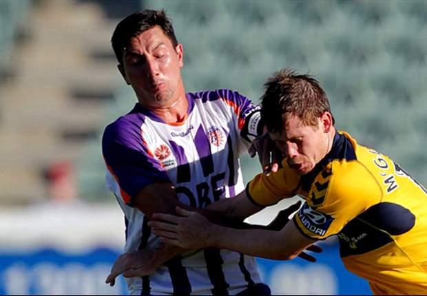 Perth Glory 1-0 Central Coast Mariners: Glory edge Mariners