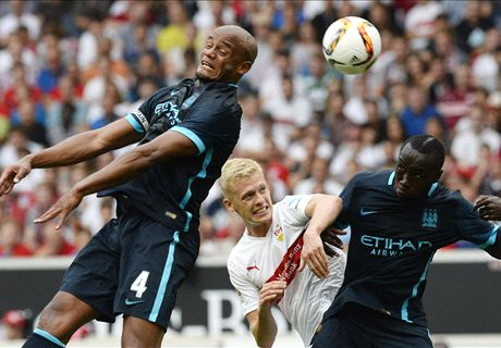 Man City stunned by Stuttgart