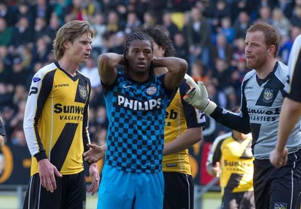 PSV loopt bij NAC nieuwe dreun op