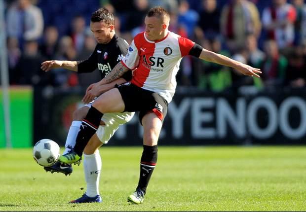 Feyenoord knoeit tegen FC Utrecht