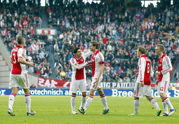Ajax 3-0 RKC Waalwijk: Frank de Boer's men record routine victory over timid visitors