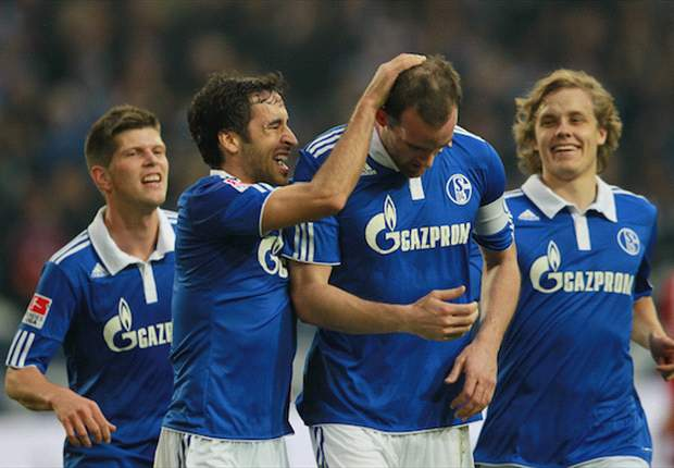 Schalke 3-1 Hamburg: Incisive hosts curb losing streak with goals from Pukki, Metzelder and Huntelaar