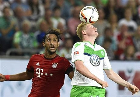 PENALTIES: Wolfsburg 1-1 Bayern Munich