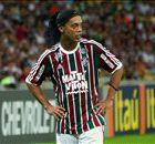 Ronaldinho targets title after Flu debut