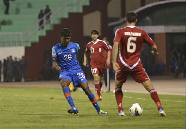 India go down tamely against Tajikistan