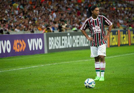 Ronaldinho y su costumbre de enamorar