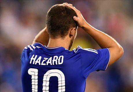 Hazard: I'll never be like Messi or Ronaldo
