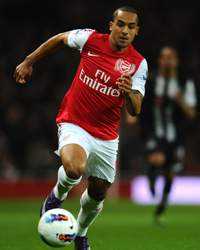 Theo Walcott, England International