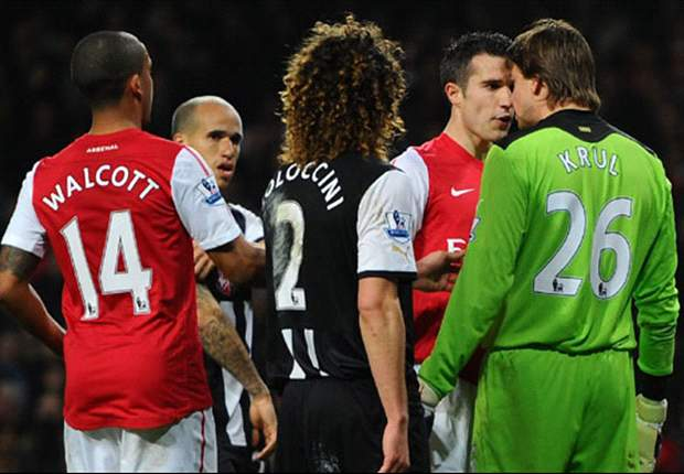 Krul plays down spat with compatriot Van Persie