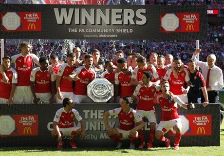 EN IMAGES : Arsenal bat Chelsea et remporte le Community Shield !
