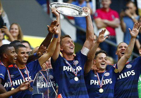 PSV grijpt tiende Johan Cruijffschaal