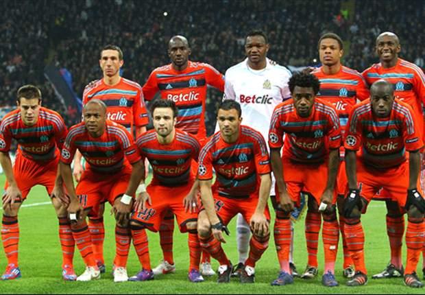 Ligue 1, OM - Le groupe face à Montpellier