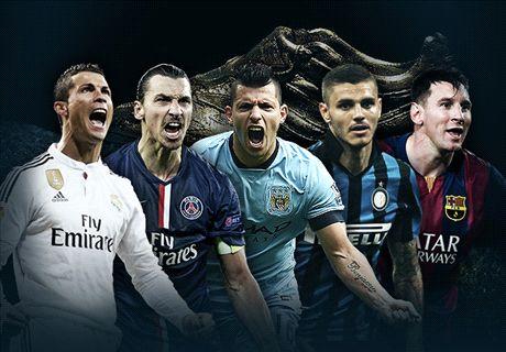 CR7, Messi & Golden Shoe contenders