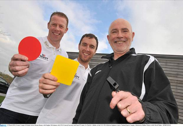 League of Ireland players take refereeing course to help consider new career once the season ends