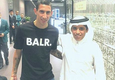 'I'm very happy to join PSG' - Di Maria