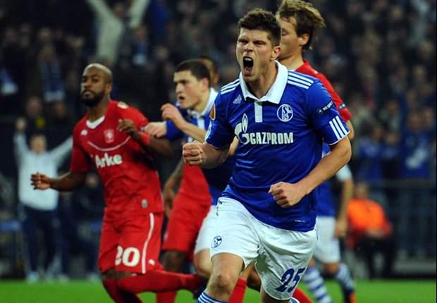 Schalke dreht in der 2. Halbzeit auf und besiegt Twente Enschede mit 4:1