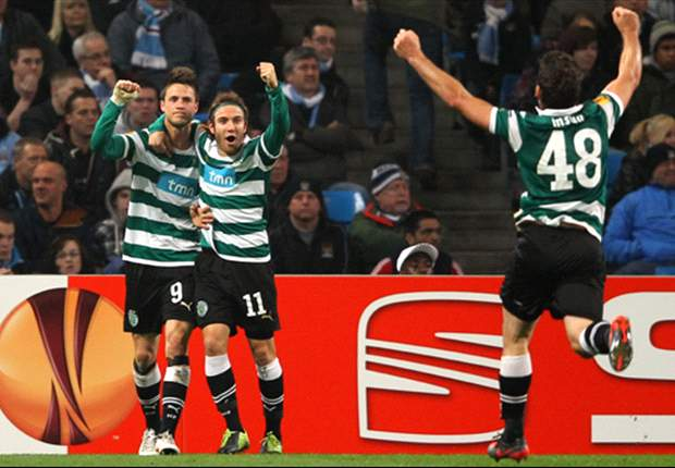 Sporting Lisbon 2-1 Athletic Bilbao: Capel nets winner as Portuguese side come from behind to take precious lead into second leg
