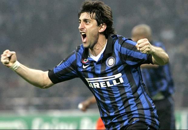 """Milito: """"Ich bleibe bei Inter, solange man mich hier haben will!"""""""