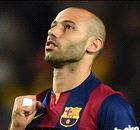 BARCA: Mascherano's red card to be appealed