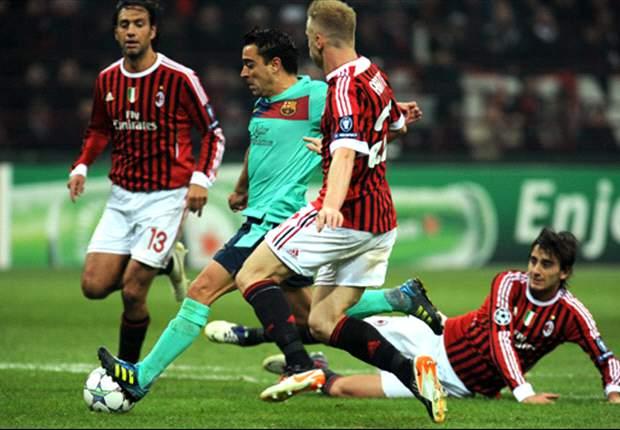 Milan pone a prueba al Barcelona en San Siro