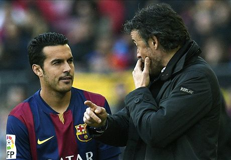 Luis Enrique: I want Pedro to stay