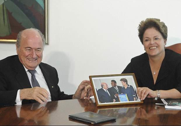 Rousseff espera 'jogo bonito' y buena organización