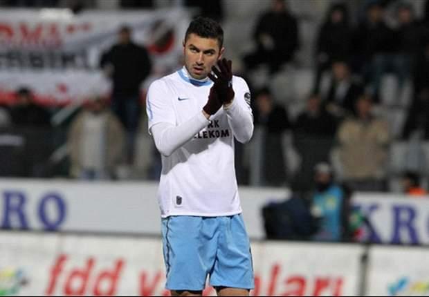 Borussia Dortmund interested in Trabzonspor striker Burak Yilmaz - report