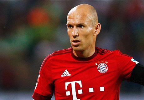 Robben: I won't join Pep at Man City
