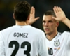 VIDEO: 'Surprised' Gomez and Podolski show Niersbach support