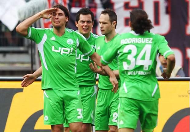 Wolfsburg gewinnt souverän mit 3:1 in Nürnberg - Mandzukic überragt!