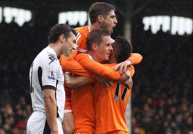 Fulham 0-3 Swansea City: Sigurdsson double & Allen strike move impressive visitors up to eighth