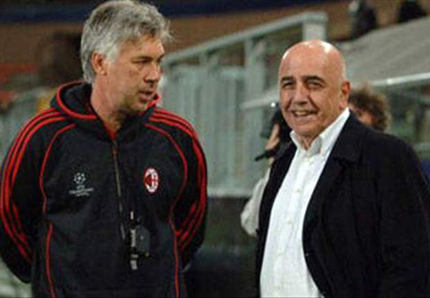 Galliani Summons Ancelotti After Chelsea Farce