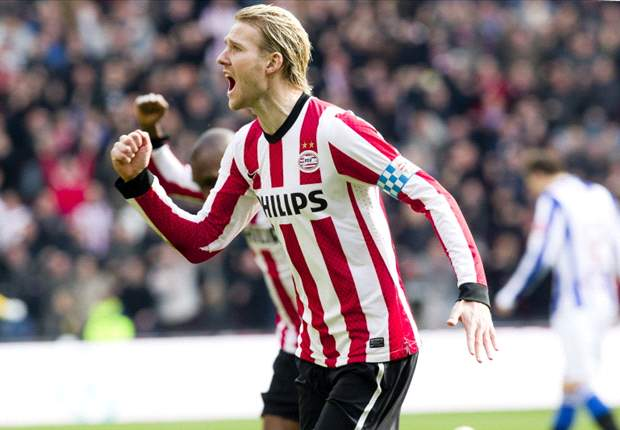 PSV 5-1 Heerenveen: Mertens double edges Phillip Cocu's side within a point of league summit after convincing victory