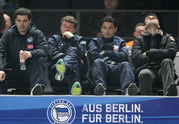 Ohne Esprit, ohne Ehrgeiz, ohne Willen - Lautern blamiert Hertha im Abstiegskampf