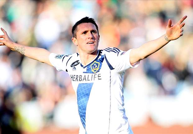 LA Galaxy 2-1 Columbus Crew: Robbie Keane penalty double seals comeback