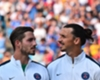 Kevin Trapp (l.) spielt bei PSG zukünftig auch mit Zlatan Ibrahimovic in einem Team
