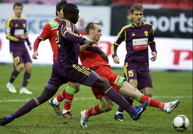 Anzhi Makhachkala & Lokomotiv Moscow vow to make an example out of fan who racially abused Christopher Samba