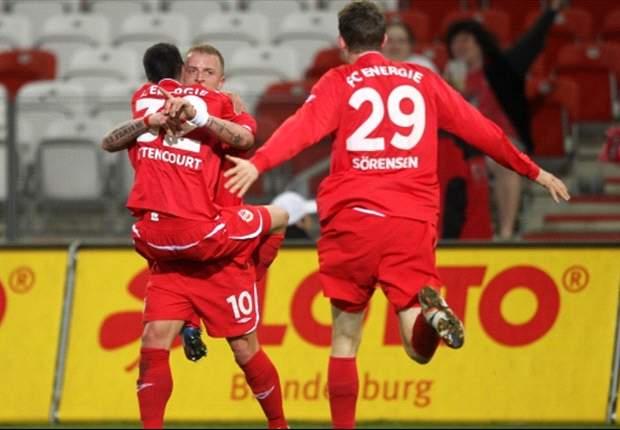 Cottbus feiert einen überzeugenden 4:0-Sieg