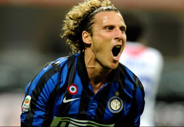 Forlan's contract will be terminated, says Inter director Branca